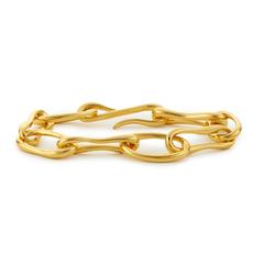 Gold Roman Chain Bracelet