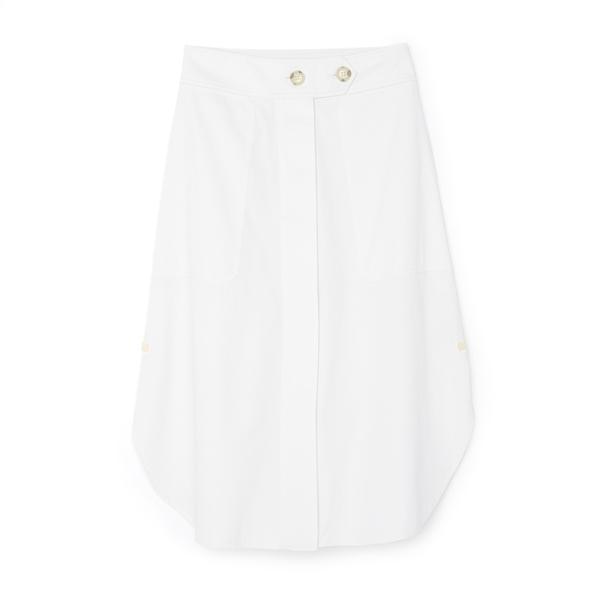 Lee Mathews Drill Skirt