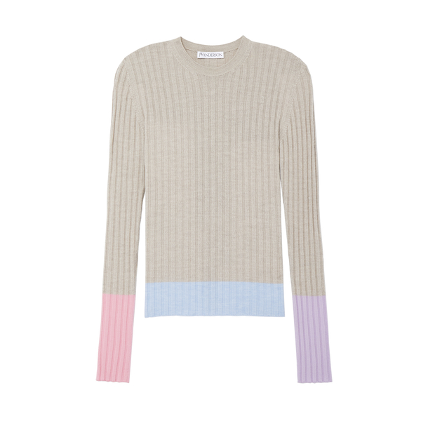 JW ANDERSON Colorblock Rib Underpinning