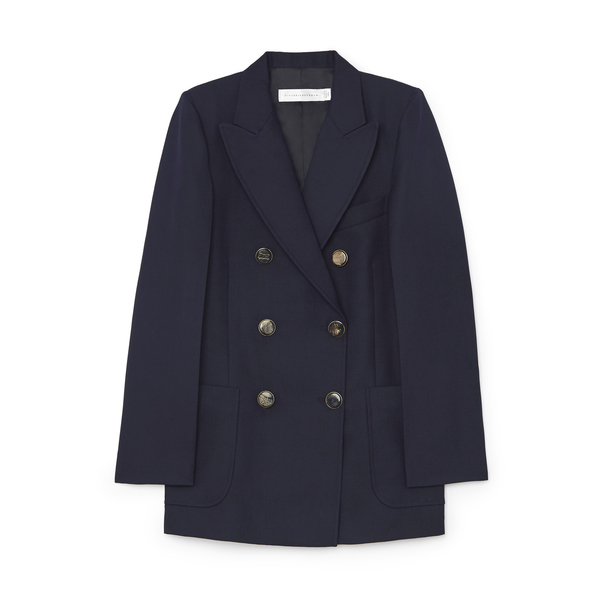 Victoria Beckham Double-Breasted Jacket