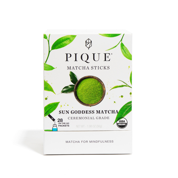 PIQUE TEA Sun Goddess Matcha Sticks