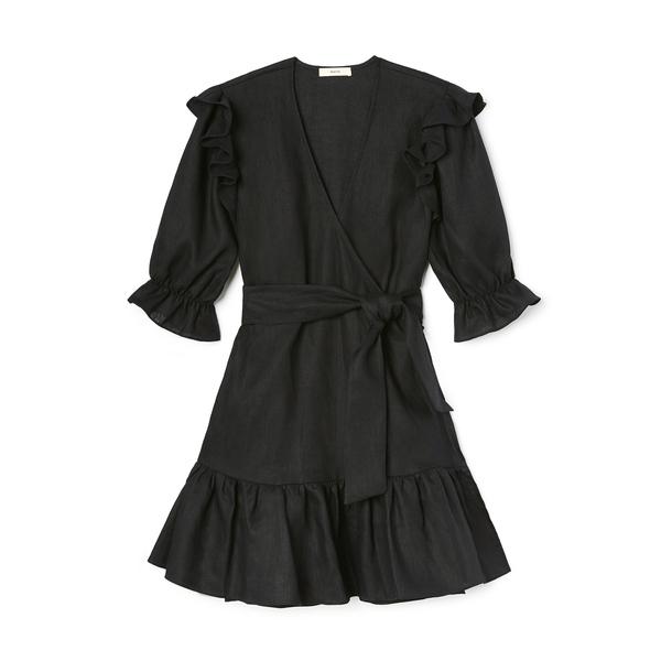 Matin Ruffle Wrap Dress