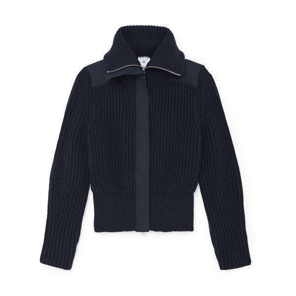 G. Label Rubinfeld Zip-Up Sweater