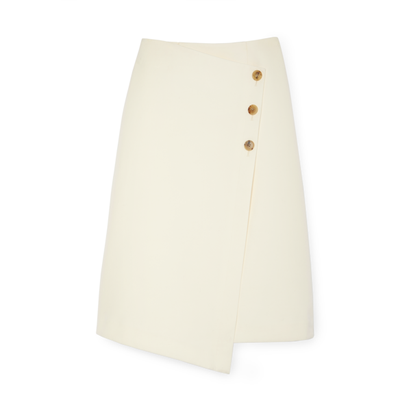 Co Asymmetrical Wrap Skirt