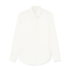 Twist-Neck Shirt