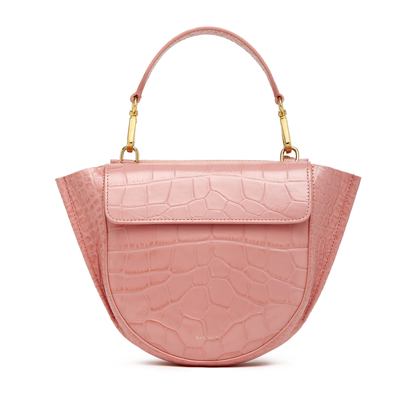 Wandler Hortensia Croc-Embossed Mini Bag