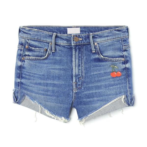 MOTHER The Rascal Slit Flip Shorts