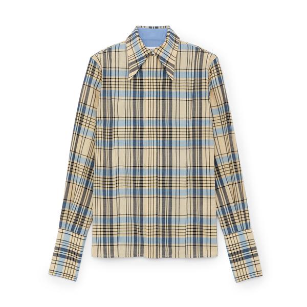 Victoria Beckham Collar Detail Shirt