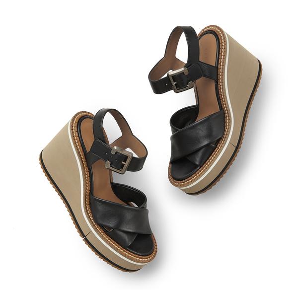CLERGERIE Noemie Wedge Sandals