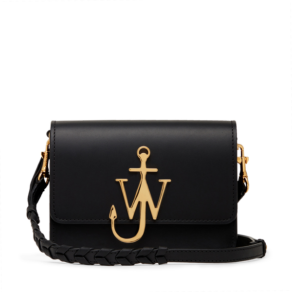 JW Anderson Black Anchor Logo Bag