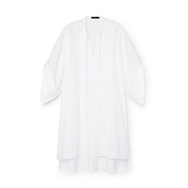 Bassike Cotton Relaxed Shirtdress