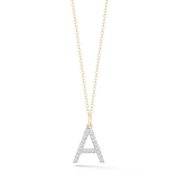 MATEO Diamond Initial Necklace
