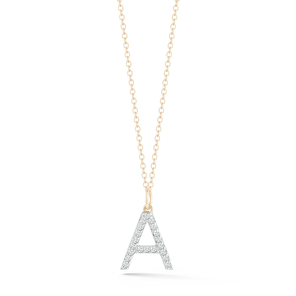 Mateo Diamond Initial Necklace
