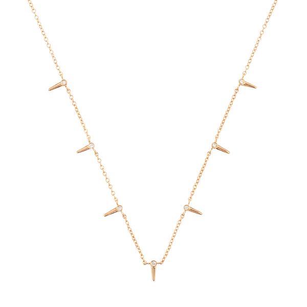 Sophie Ratner Star Point Interval Necklace