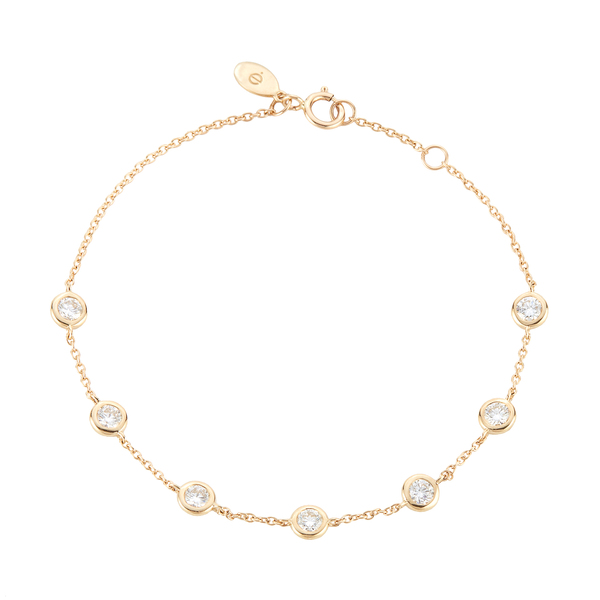 Eriness Diamonds by the Yard Bracelet