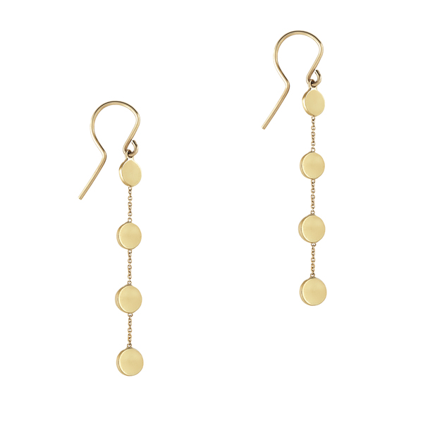 Jennifer Meyer Circle-by-the-Inch Earrings