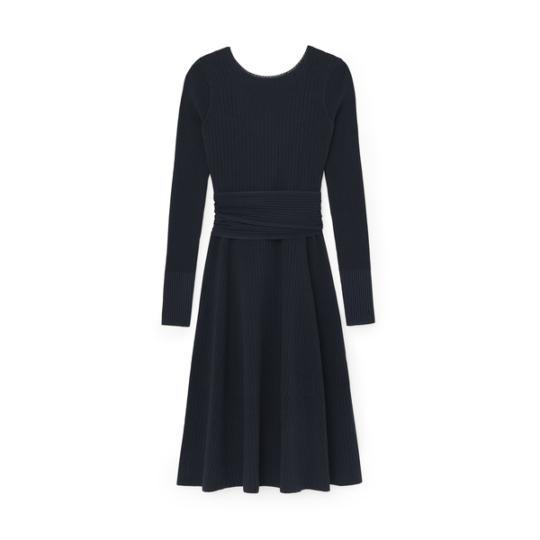 Victoria Beckham Crossback Flared Dress