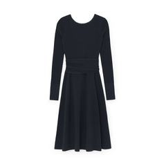 Crossback Flared Dress