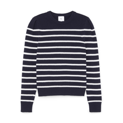 Antoniadis Puff-Sleeve Mariner Sweater