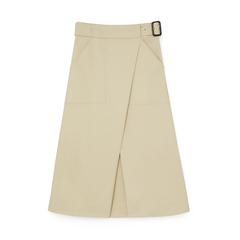 Hall Cotton Wrap Skirt
