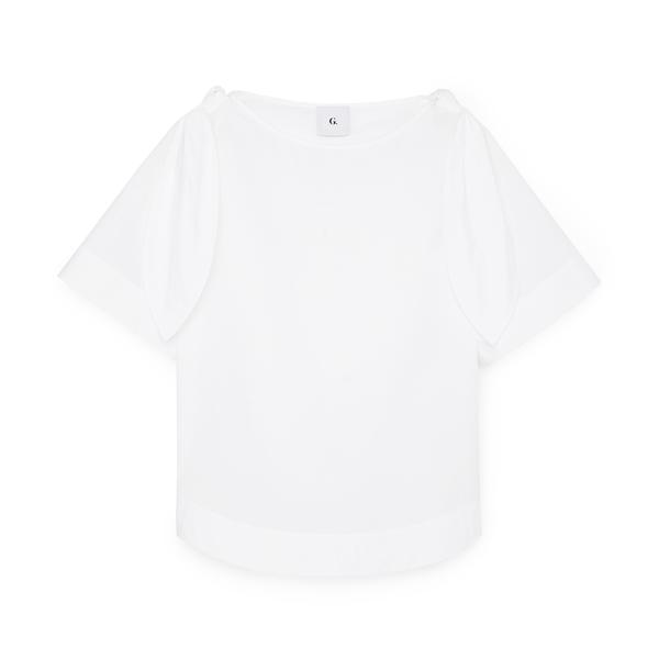 G. Label Kalei Tie-Shoulder Top