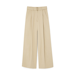 Seamus High-Waisted Pleated Pants