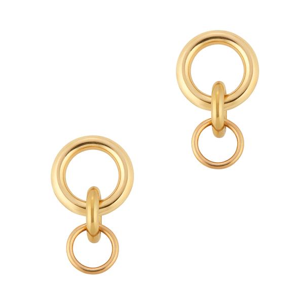 Laura Lombardi Mini Porta Earrings