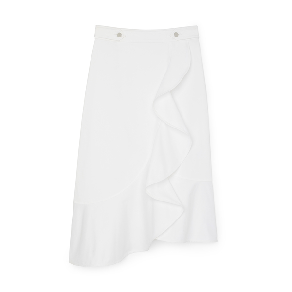 G. LABEL Ripley Ruffle Skirt