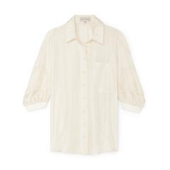 Rommie Neat Puff Sleeve Shirt