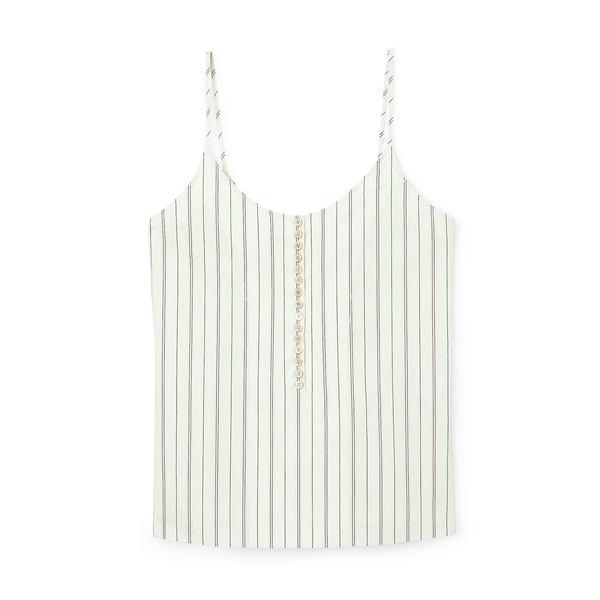 Chloé Striped Cami Top