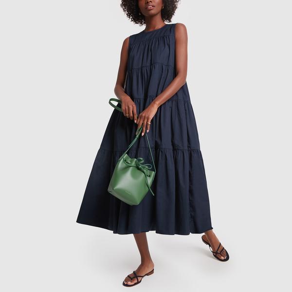 Co Sleeveless Tiered Dress