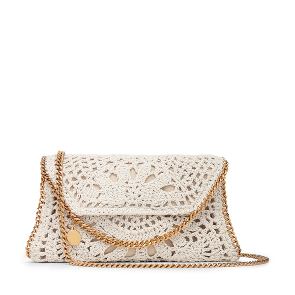 Stella McCartney Falabella Cotton Crochet Crossbody Bag
