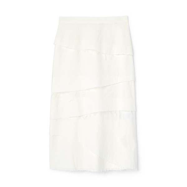 Brock Collection Woven Skirt Queshia