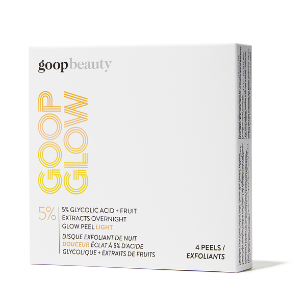 goop Beauty GOOPGLOW 5% Glycolic Acid Overnight Glow Peel Light - 4-Pack