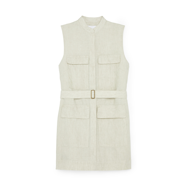 BONDI BORN Utility Sleeveless Shiftdress