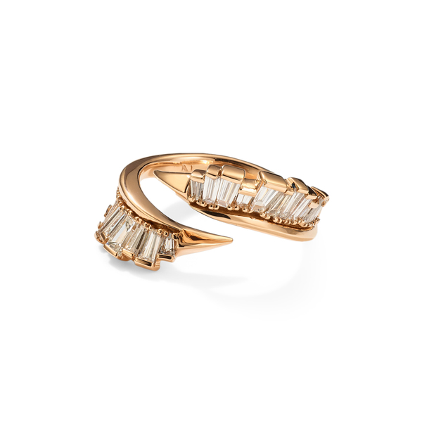 Nak Armstrong Open Coil Ruched Ring