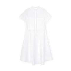 Mendoza Dropped-Waist Shirtdress