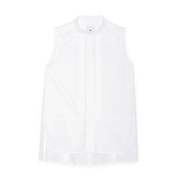G. LABEL Casey Pleat Collar Shirt
