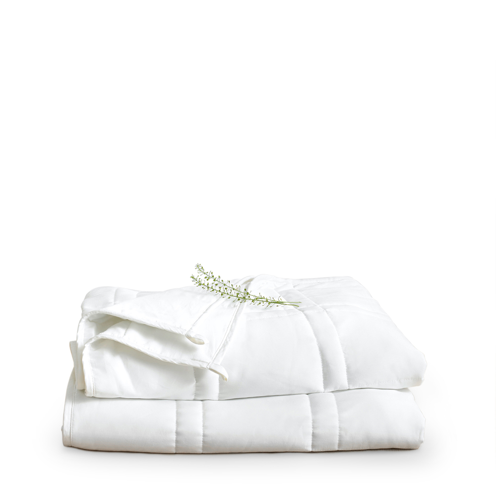 Baloo Cool Cotton Weighted Blanket, 15 Lbs. - Full/queen