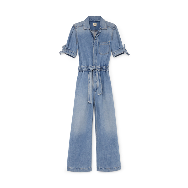Citizens of Humanity Robyn Knot-Sleeve Jumpsuit