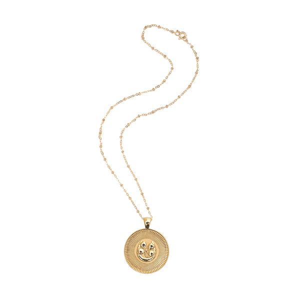 JANE WIN LUCKY Coin Pendant Necklace