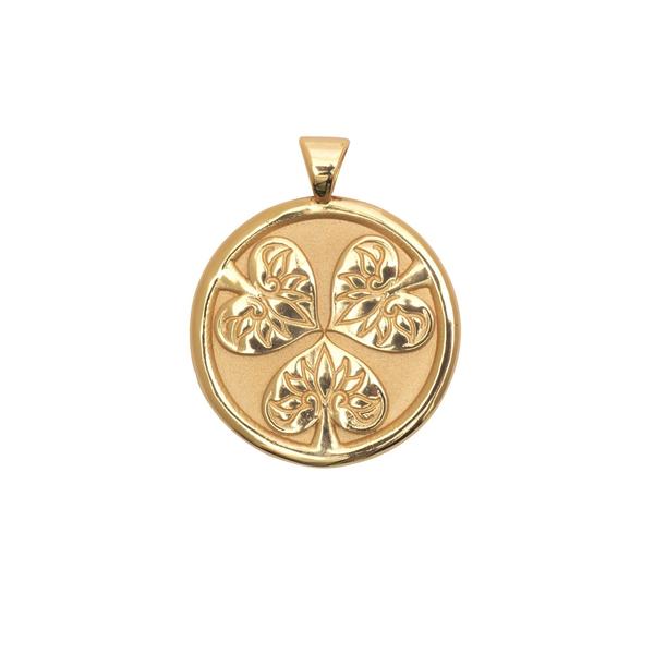 JANE WIN JOY Coin Pendant Necklace