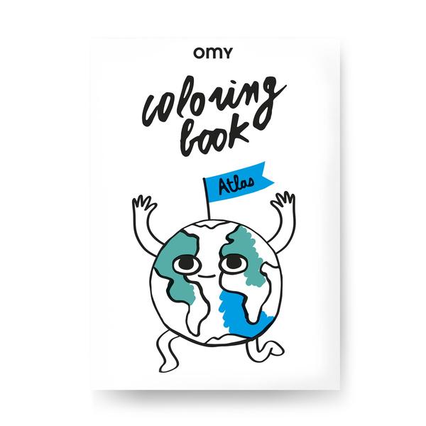 OMY Atlas Coloring Book
