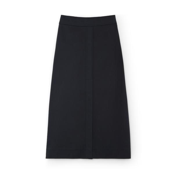 G. Label Stewart A-Line Cotton Skirt
