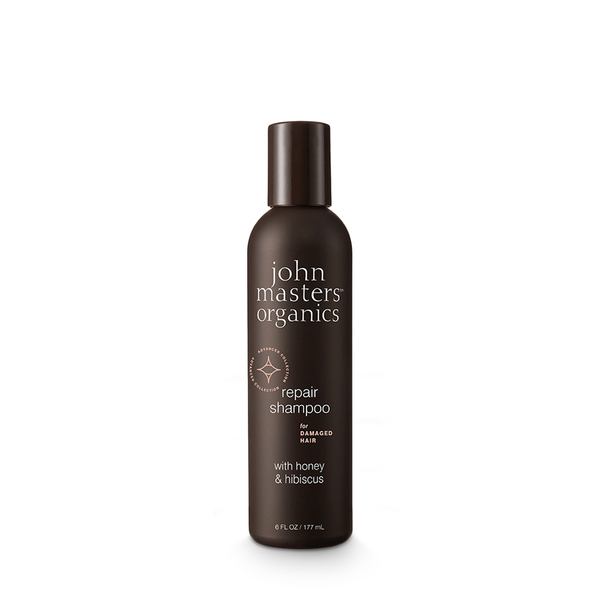 John Masters Organics Repair Shampoo for Damaged Hair with Honey & Hibiscus