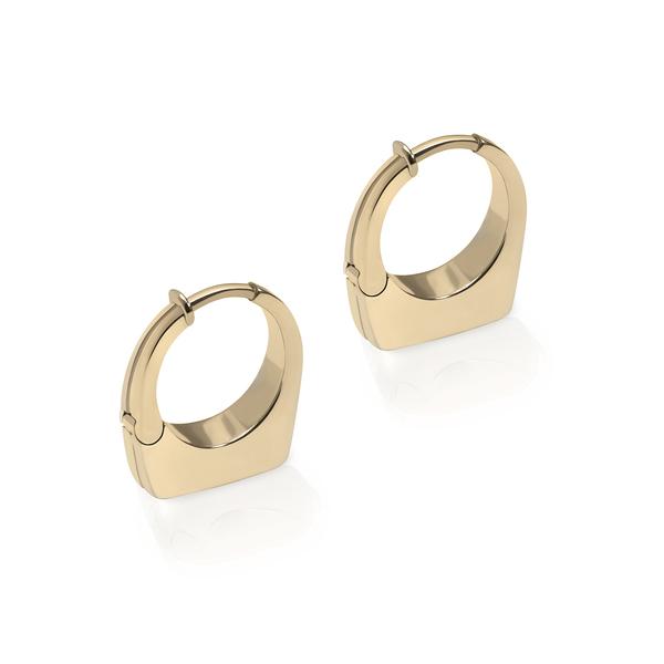 PRASI FINE JEWELRY Dois Irmãos Mini Earrings