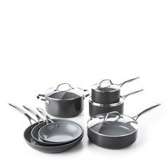 Valencia Pro Ceramic Non-Stick Cookware, 11-Piece Set