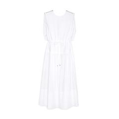 Eco Poplin Cape Dress