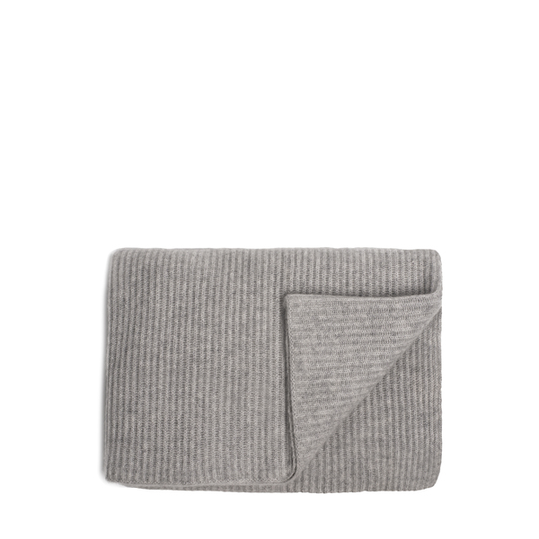 Ben Soleimani Ribbed Cashmere Throw