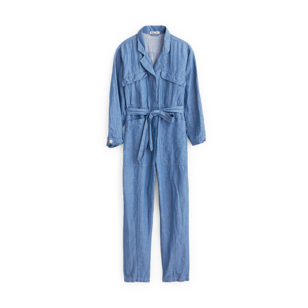 Alex Mill Chambray Expedition Jumpsuit